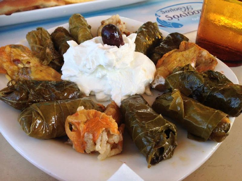 dolmades in greece