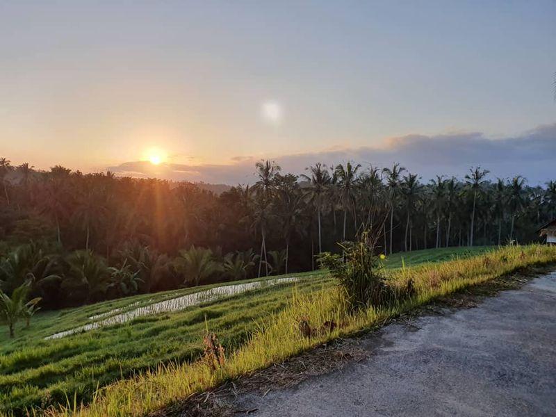 sunrise Tabanan Bali