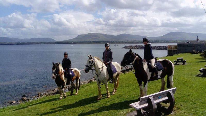 Ireland horse riding