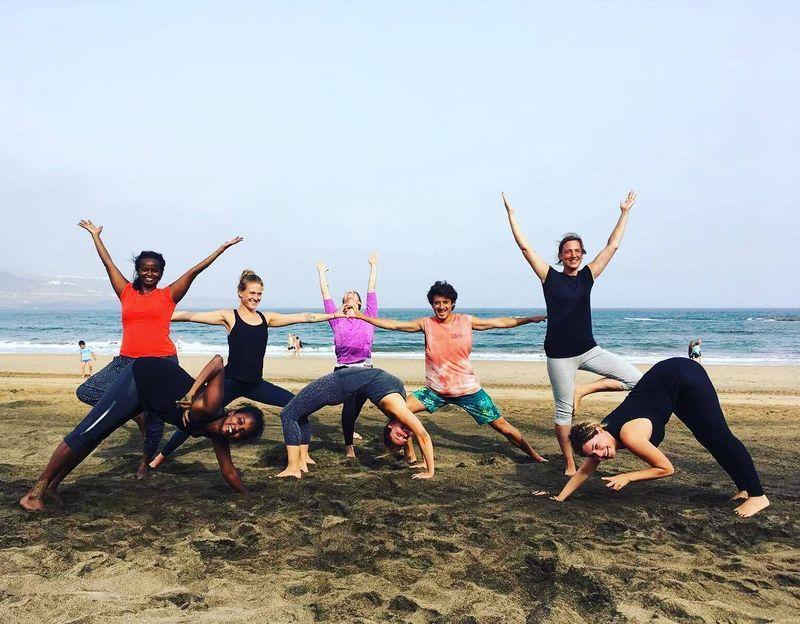 yoga retreat canary islands