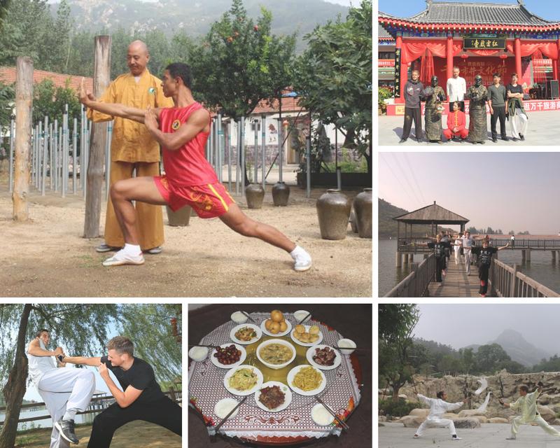 Tai Chi & Kung Fu training camp at Tianmeng Kung Fu Academy