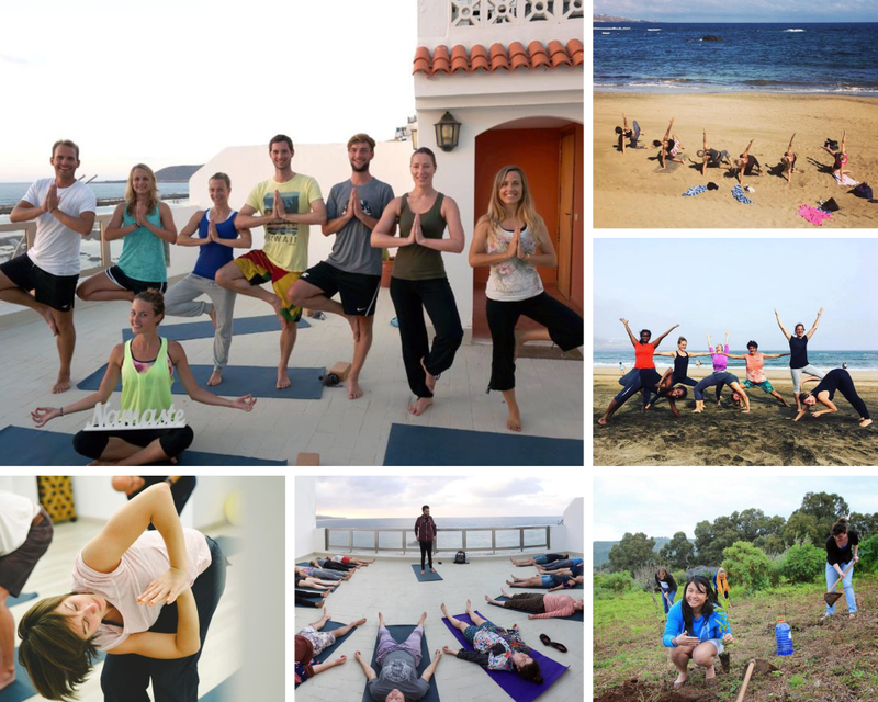 yoga retreat in Las Palmas