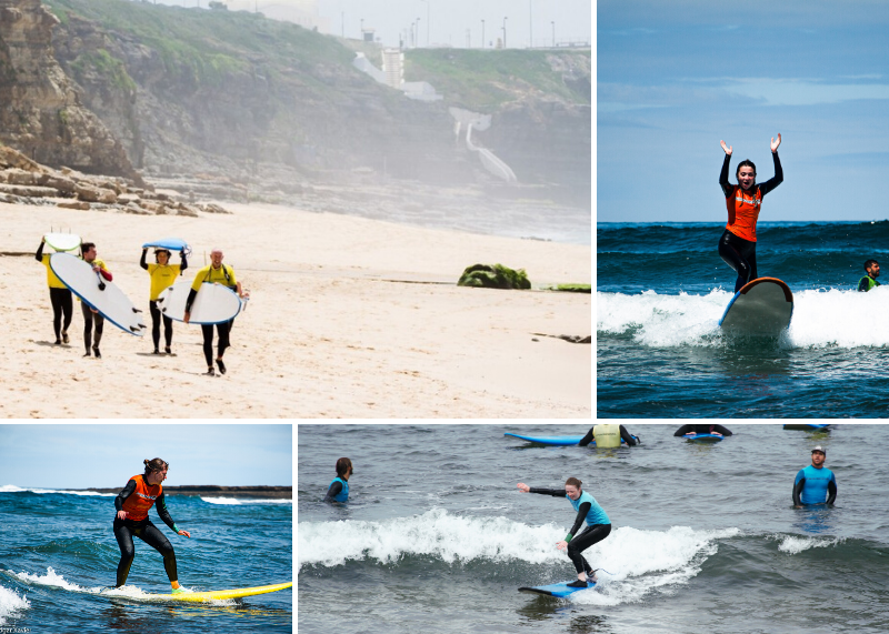 4 Day Beginner and Intermediate Intensive Surf Coaching in Ericeira Lisboa