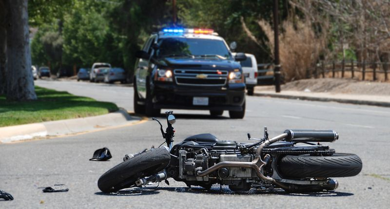 motorbike accident usa