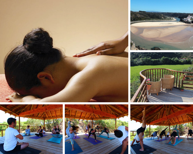 yoga retreat in Praia de Odeceixe
