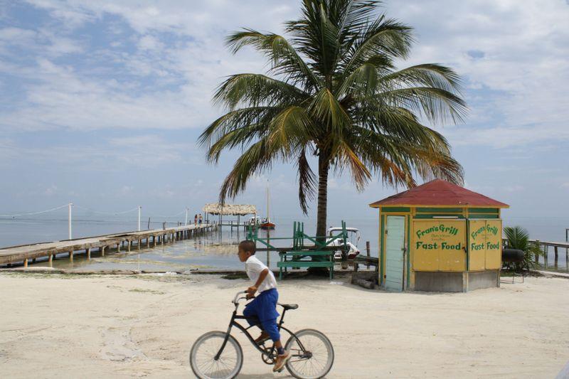 Caribbean roadside cantina
