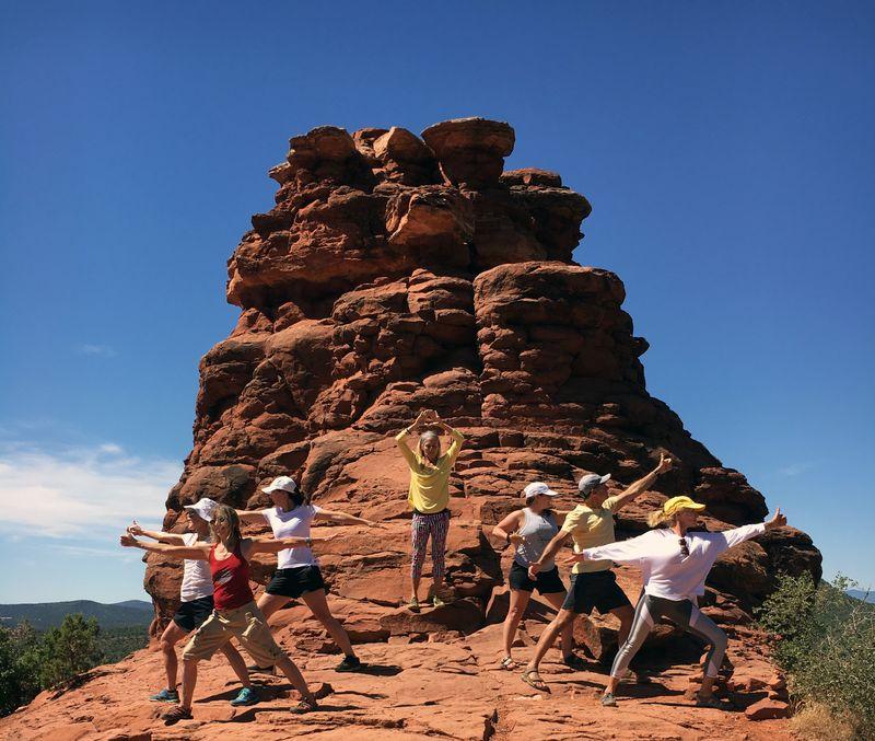 yoga retreat in Arizona