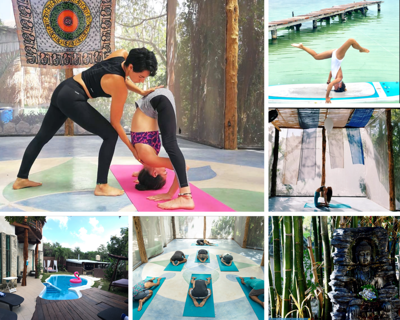yoga retreat in Tulum Mexico