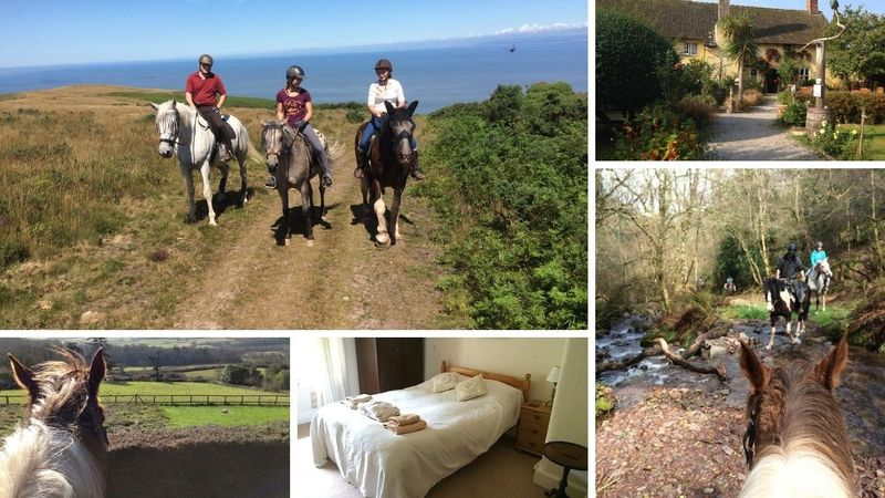 horse riding holiday in exmoor