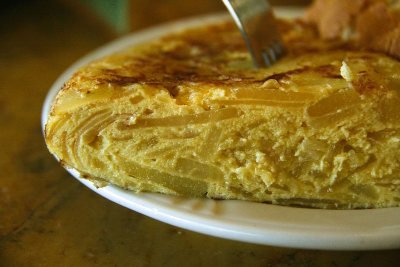 Tortilla Espanola  in Spain