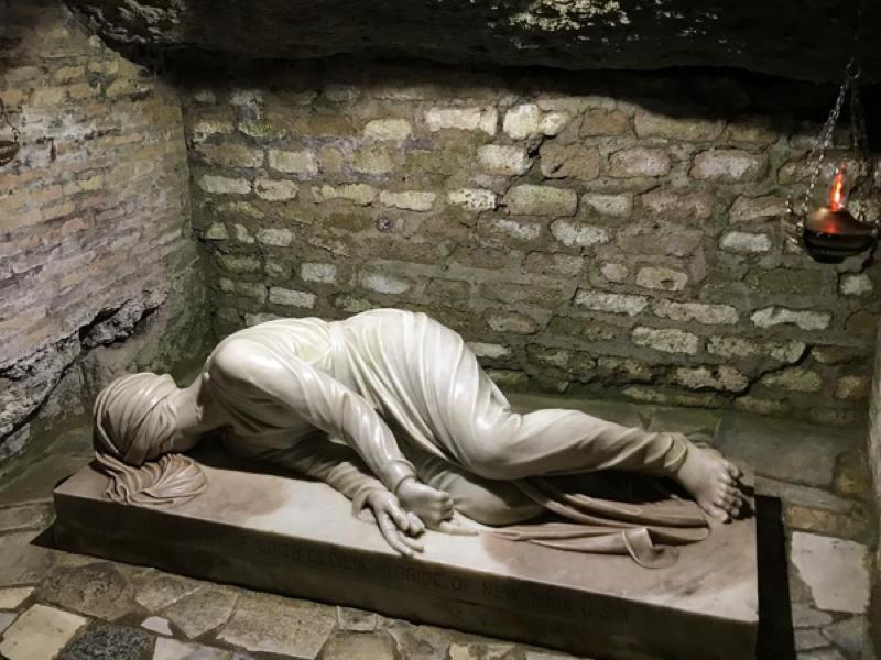 catacombs of callixtus