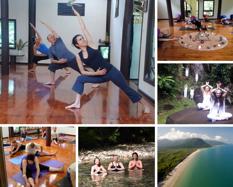 Yoga in Cape Tribulation