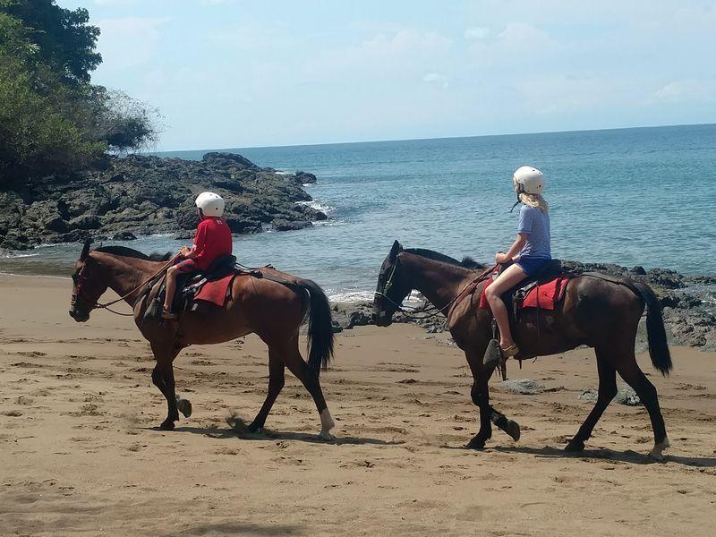 Playa Claro Rio beach riding