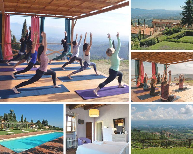 4 days yoga in tuscany