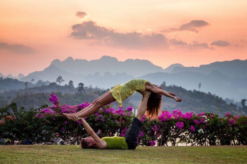 weekend yoga retreat lake district