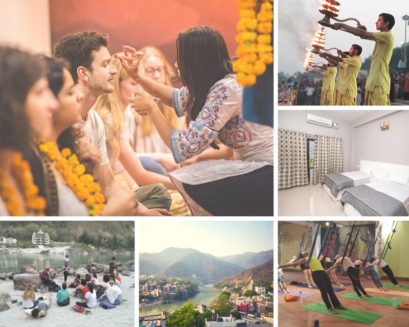 yoga retreat in rishikesh india