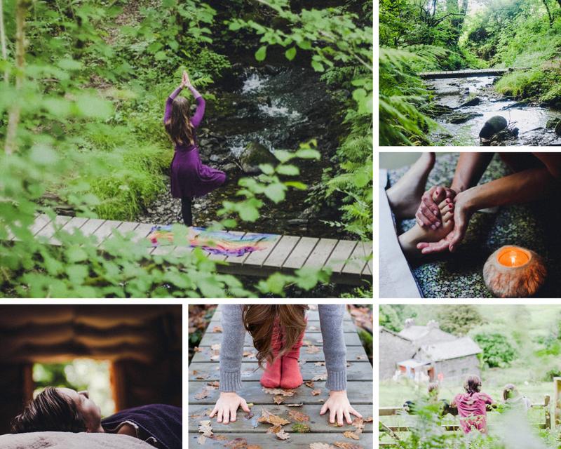 private yoga retreat in the UK