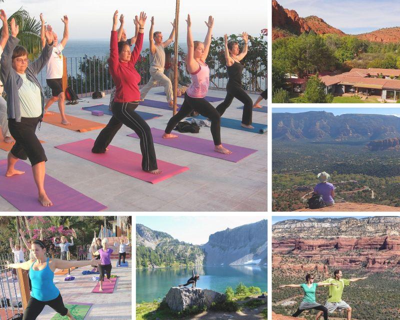 yoga , hiking and healing in sedona