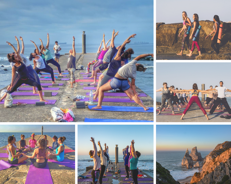 yoga retreat in Cascais