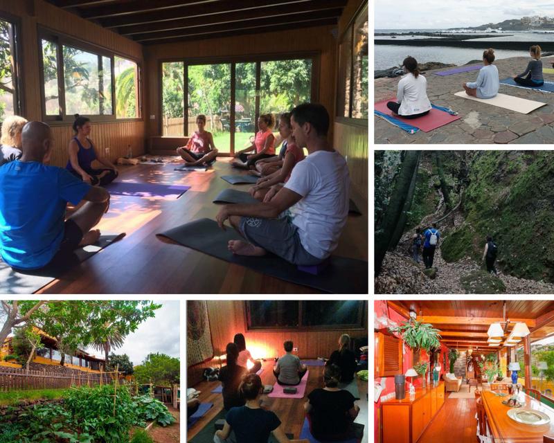retiro de yoga en Islas Canarias