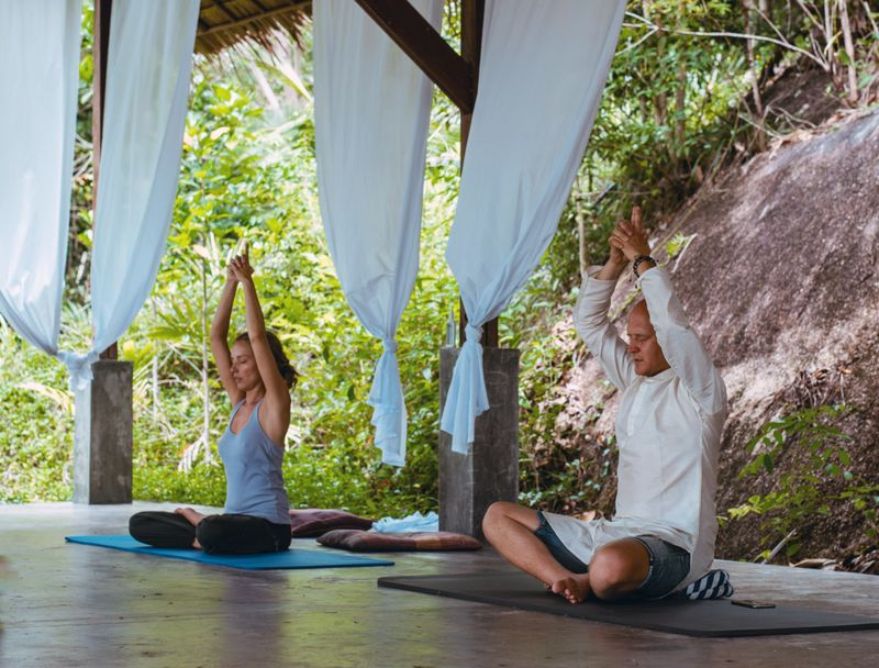 yoga in Ko Phangan
