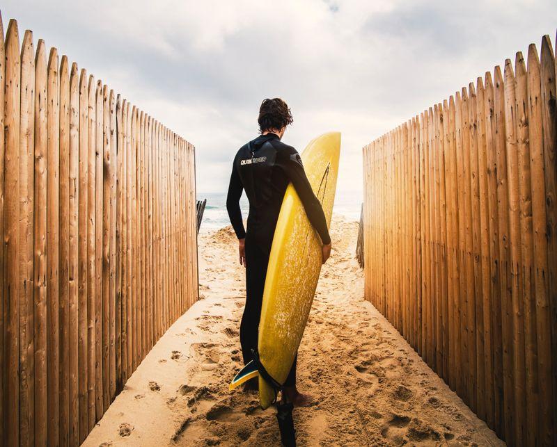 surfboard-beach