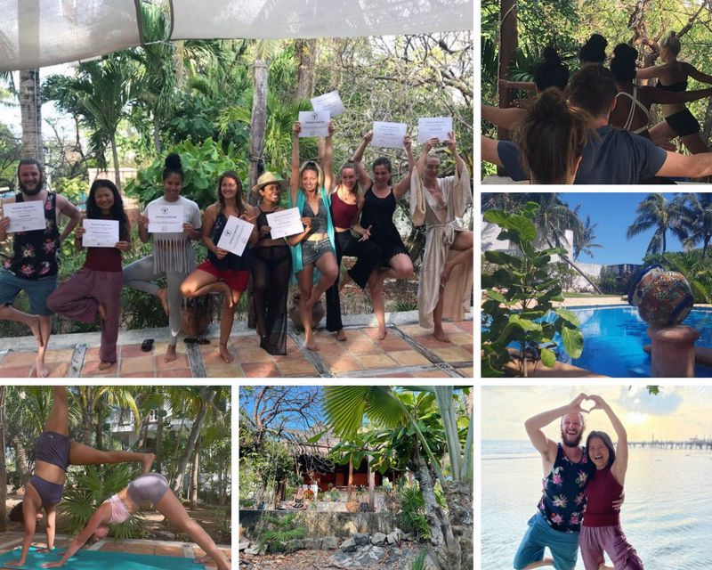 yoga teacher training in Cancun
