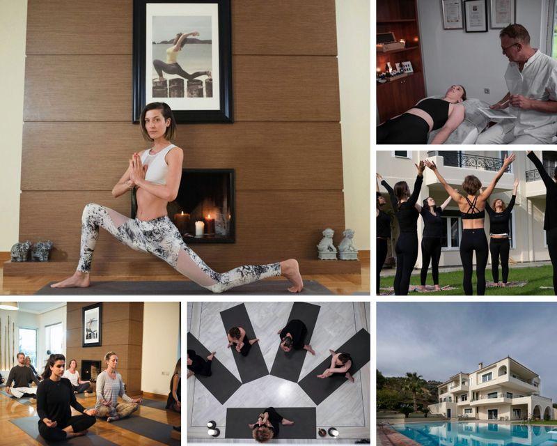 Yoga retreat in Attica