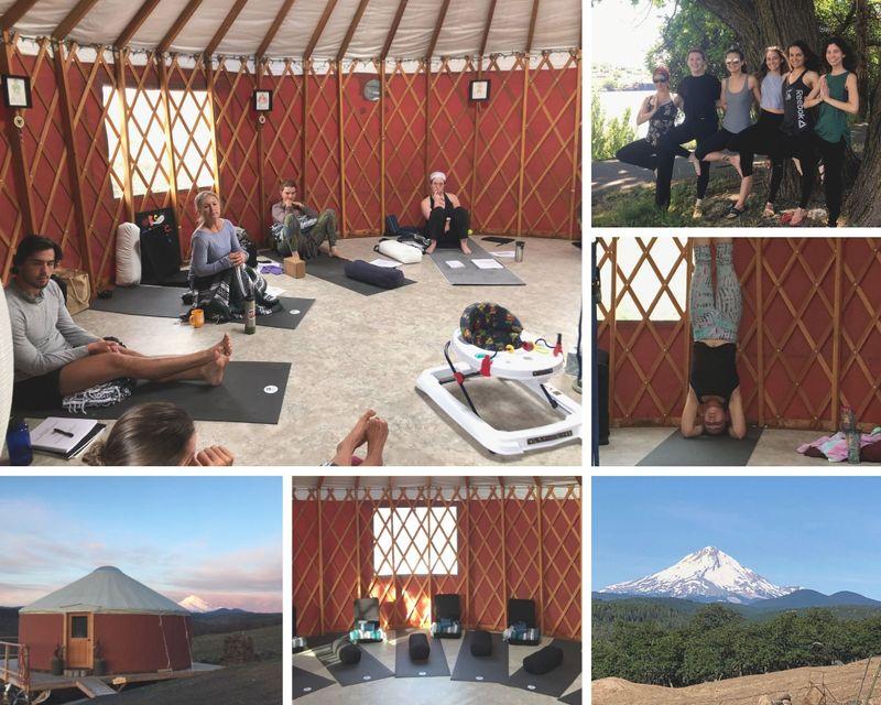 17 Day 200hr In Person Vinyasa Yoga Teacher Training in The Dalles, Oregon