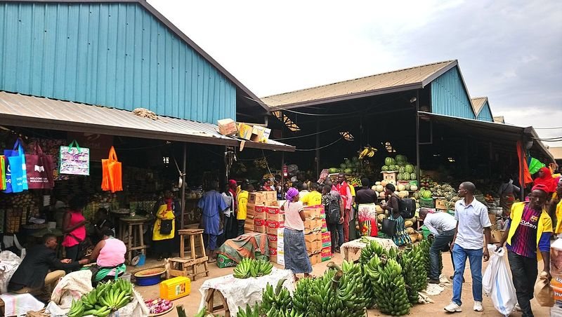 Market in kigali