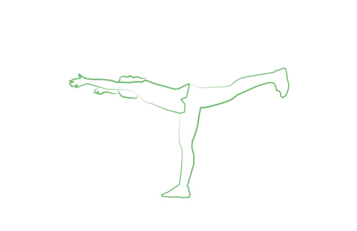 warrior 3 yoga pose tripaneer