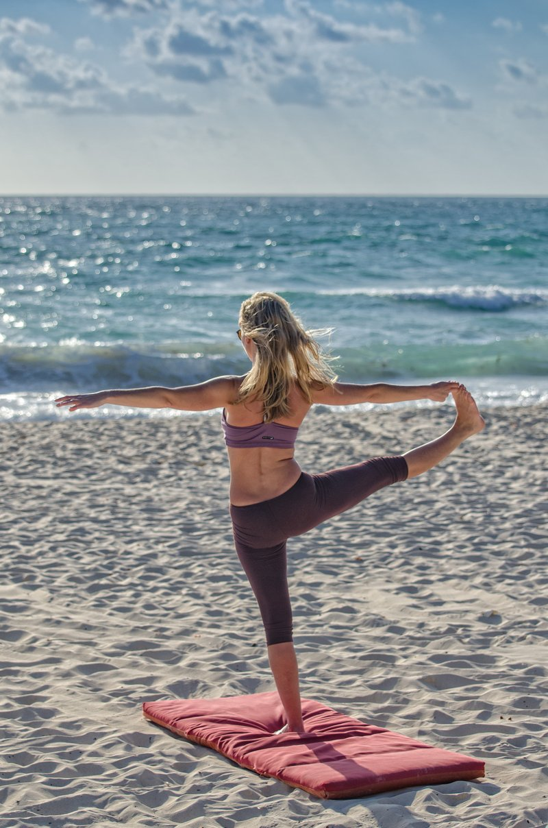 yoga and surf