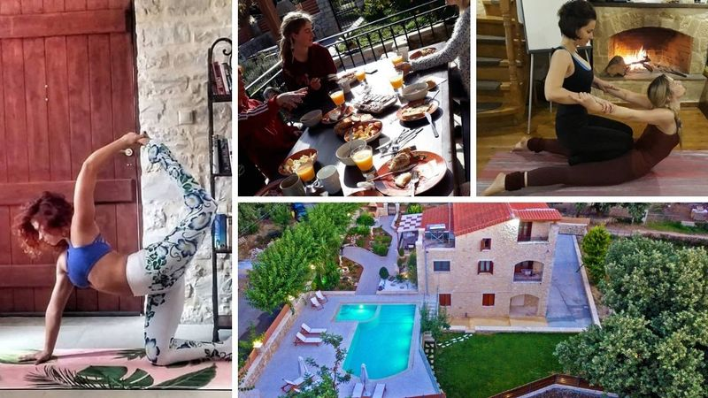 18 days 200 h vinyasa & hatha YTT in crete