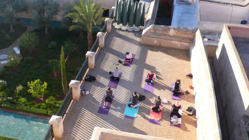 yoga retreat in marrakesh