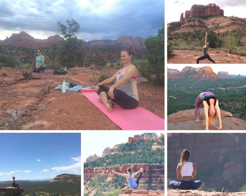 self-love yoga holiday in sedona, arizona