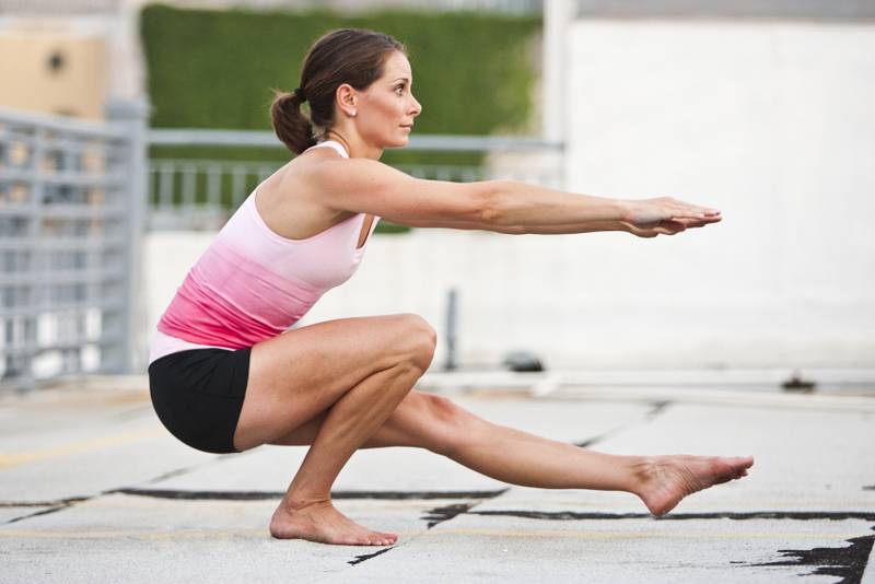 Successful Standing Yoga Poses Are Highly Dependent On The Strength Of Your Lower Body Muscles That Press Inner And Outer Foot Down While Doing