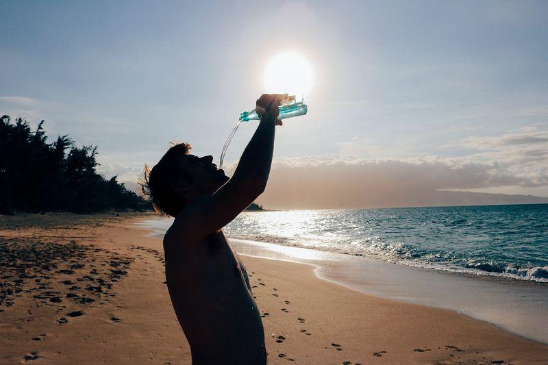 hydrate-beach