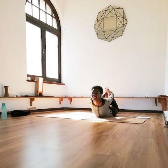 Yoga studio at African Soul Surfer