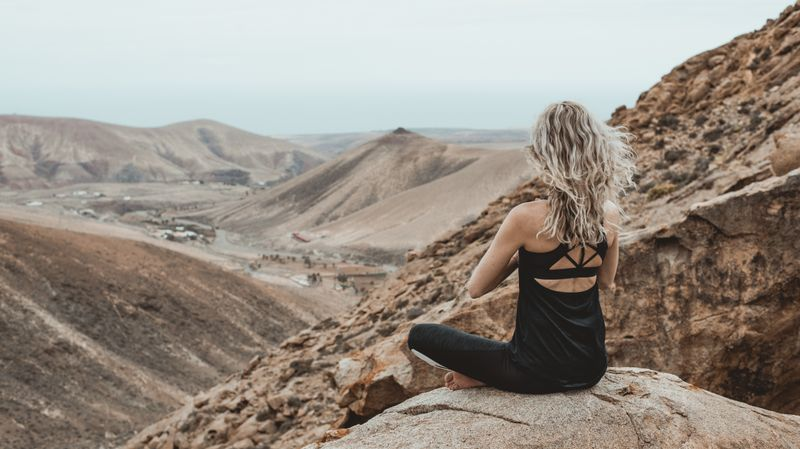 Meditating in Spain, Fuerteventura