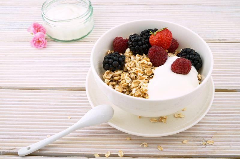 Healthy snack bowl