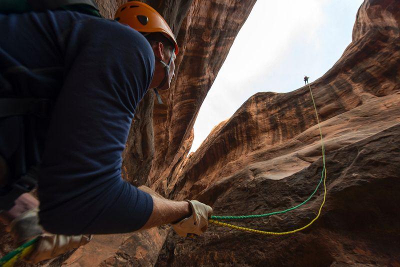 rock climbing partner