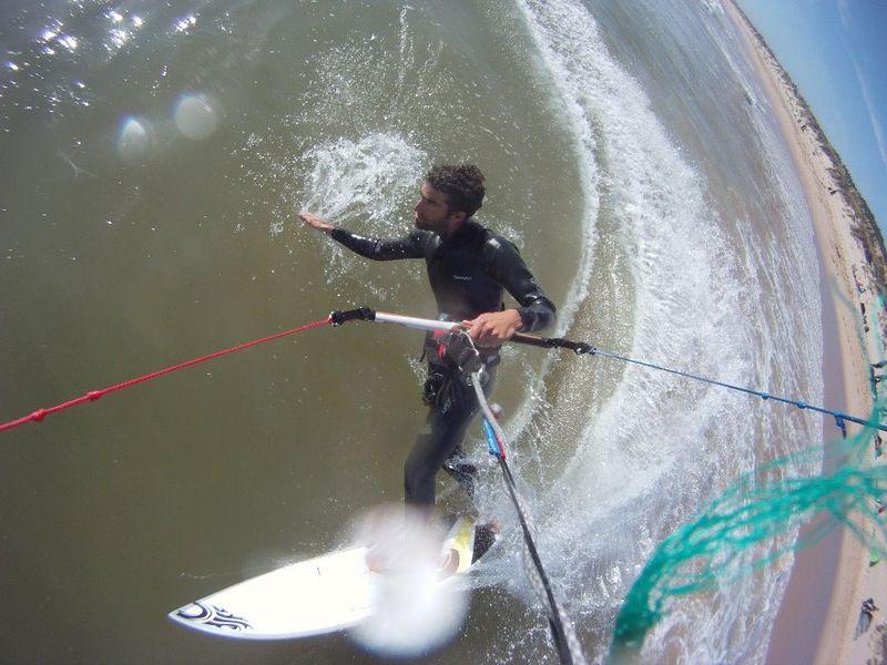 kitesurfing in sesimbra portugal