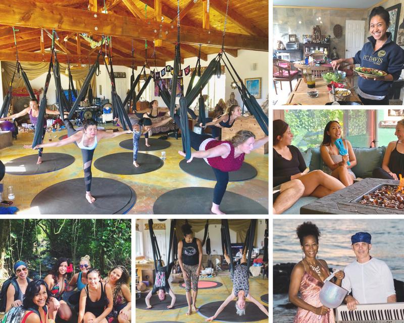 yoga retreat in Maui