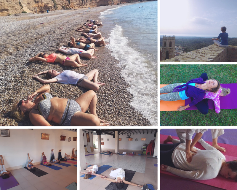 yoga retreat in Castellon