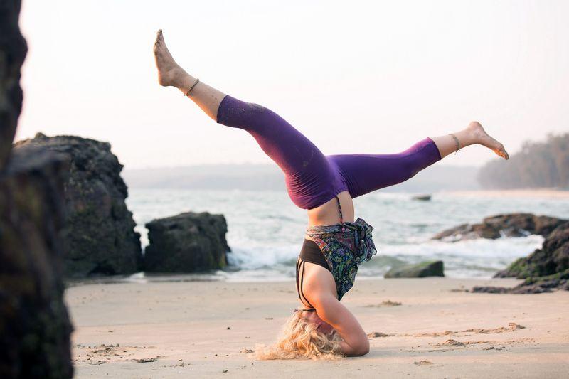 Advanced yoga retreat