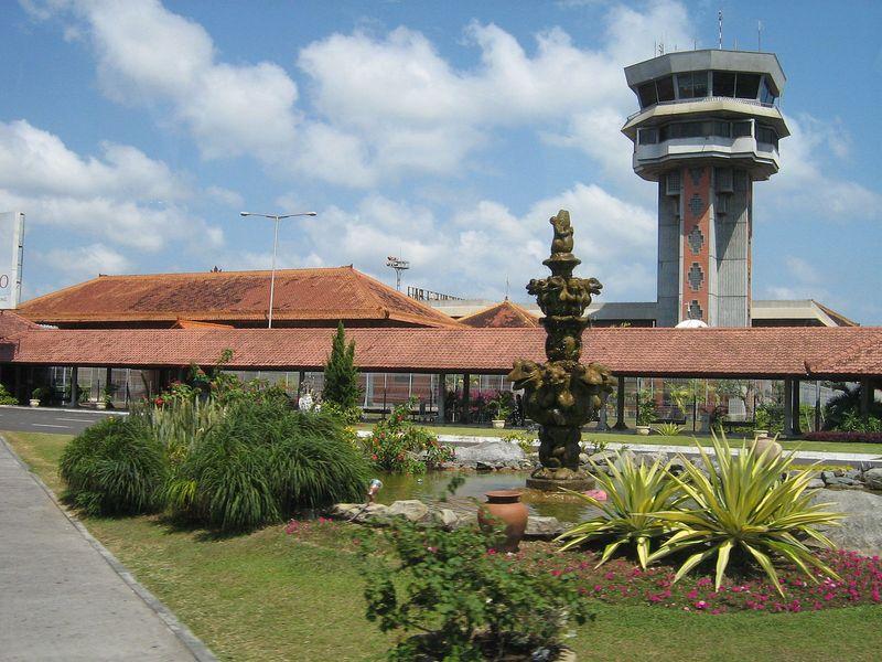 denpasar airport tower