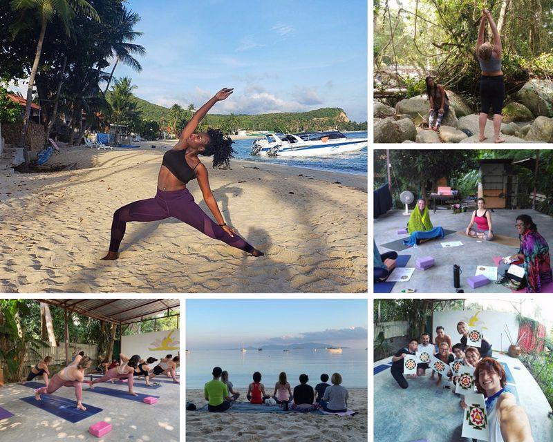yoga teacher training in Koh Samui