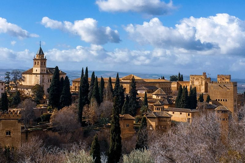 Alhambra complex in Andalusia