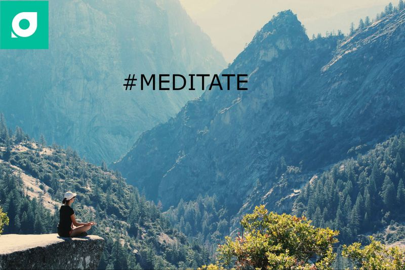 meditate yoga hashtag by tripaneer