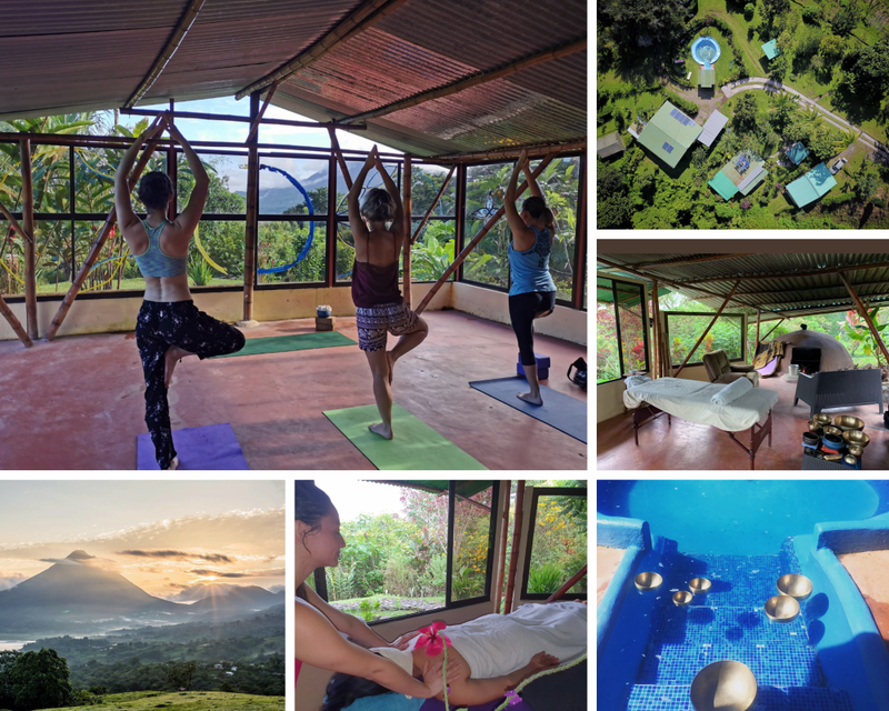 yoga and work in Costa Rica